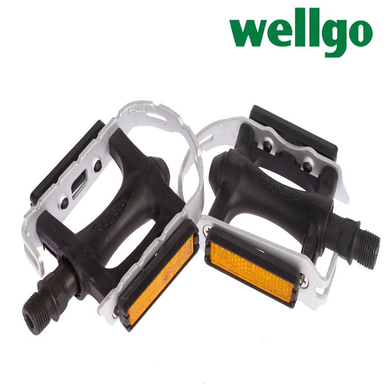 PEDALA WELLGO ALU/PVC #R261 BL K